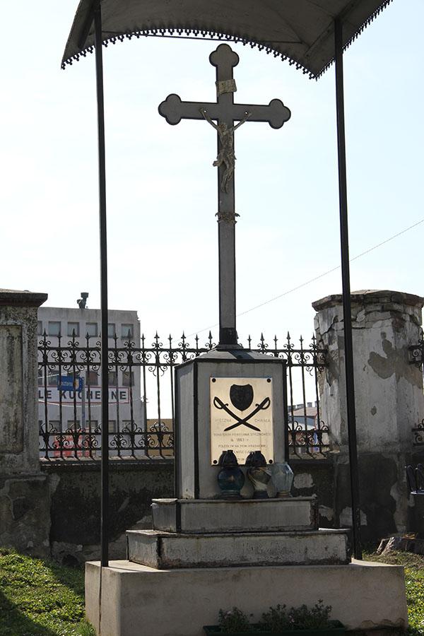 Zdjęcie przedstawia pomnik powstańców
