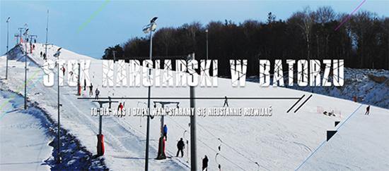 zdjęcie przedstawia stok narciarski w batorzu