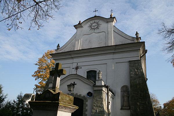 Zdjęcie przedstawia Kościół pod wezwaniem ducha świętego